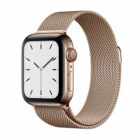 Apple Watch S5 40mm (Cellular) Gold Stainless Steel / Gold Milanese Loop