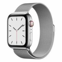Apple Watch S5 44mm (Cellular) Stainless Steel / Milanese Loop