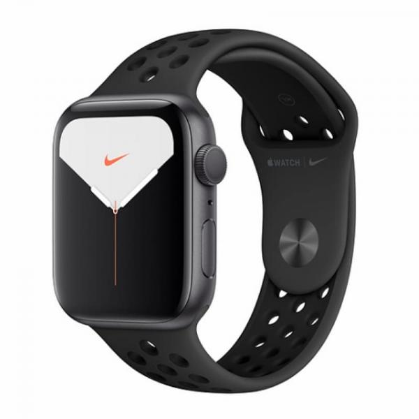 Apple Watch 5 Nike 44mm Space Gray Aluminum Case / Black Sport Band